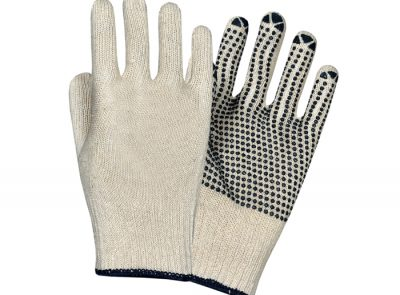 Seamless PVC Dotted Gloves SWT-DSML-1005
