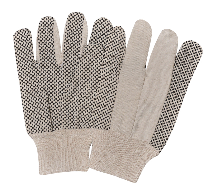 Drill Pvc Dotted Gloves With K/W Straight & Wing Thumb