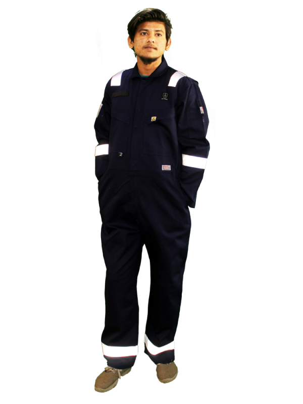 ANTI-STATIC FIRE RETARDANT COVERALL FR1211