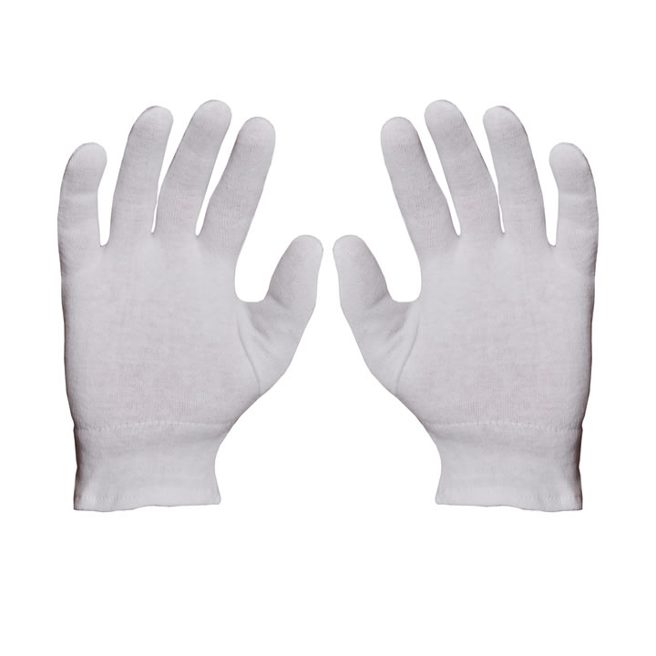 Cotton Gloves 706-Elastic